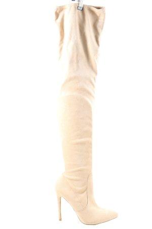 Missguided Stivale cuissard crema stile casual