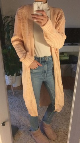 Missguided Cappotto a maglia multicolore