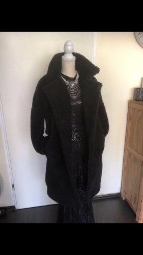 Missguided Abrigo ancho negro