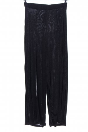 Missguided Pantalon palazzo noir style simple