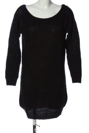 Missguided Abito maglione nero stile casual