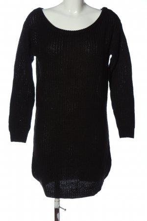 Missguided Pulloverkleid schwarz Casual-Look