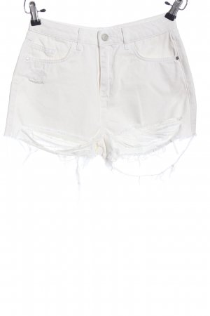 Missguided Shorts weiß Casual-Look