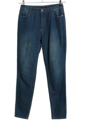 Missguided Slim Jeans blau Casual-Look