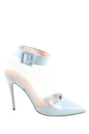 Missguided Spitz-Pumps blau Elegant