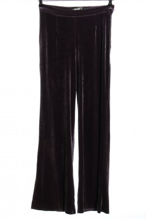 Missguided Stoffhose lila Casual-Look