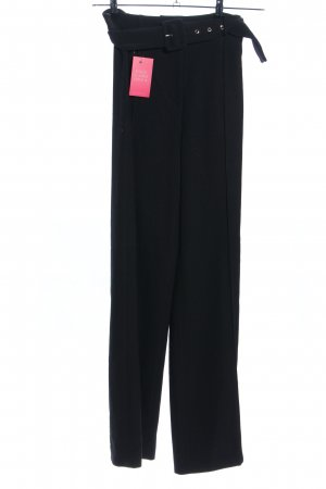 Missguided Stoffhose schwarz Business-Look