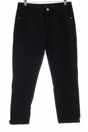 Missguided Straight-Leg Jeans schwarz Casual-Look