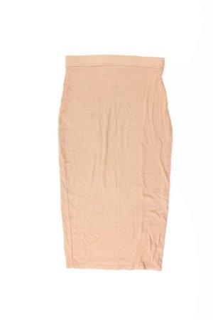 MISSGUIDED Stretchrock Größe XS braun aus Polyester
