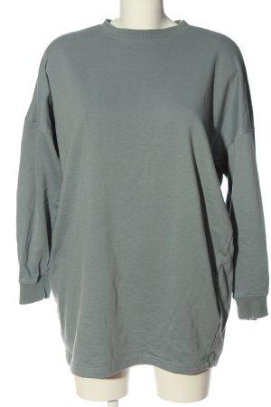 Missguided Sweatshirt lichtgrijs casual uitstraling