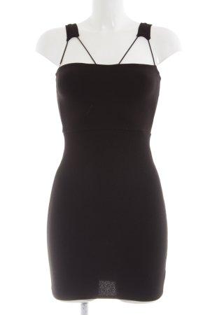 Missguided Trägerkleid schwarz Elegant