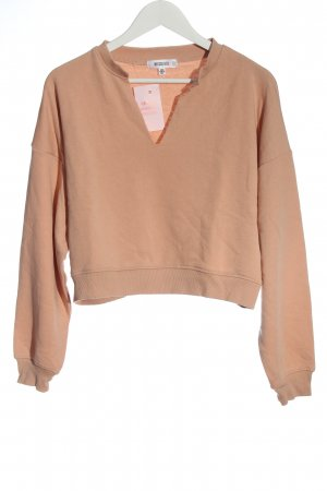 Missguided V-Neck Sweater nude casual look