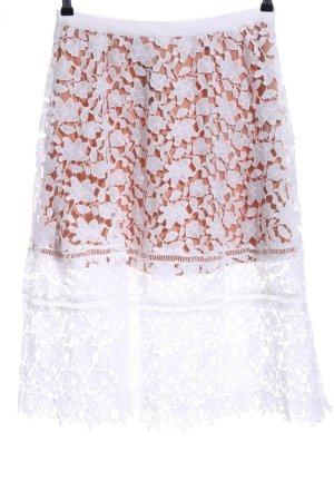 Missguided Falda de encaje multicolor