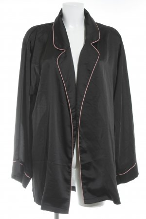 Missguided Wraparound Jacket black-pink