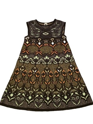 Missoni Robe courte multicolore polyester