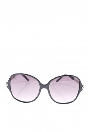 missioni Oval Sunglasses black-pink casual look