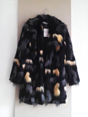 Misskoo Paris, wunderschöner Mantel aus künstlichem Fell, Grösse M, neu