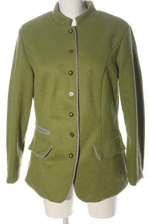 Misslook Abrigo corto verde look casual