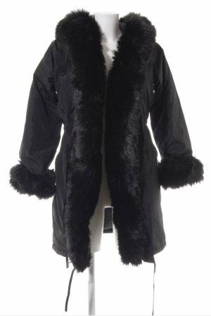 Misslook Mantel Fake Fur Jacke Übergang