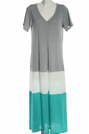 Misslook Robe t-shirt moucheté style décontracté