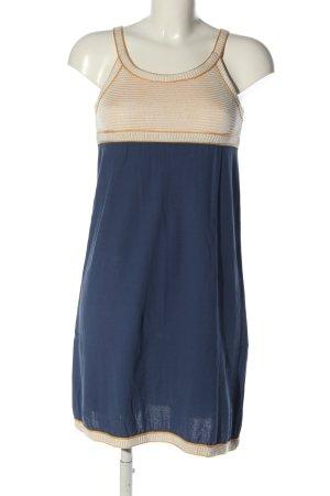 Missoni A-Linien Kleid blau-wollweiß Casual-Look