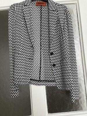 Missoni Blazer in maglia bianco-nero
