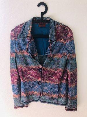 Missoni Blazer in maglia multicolore