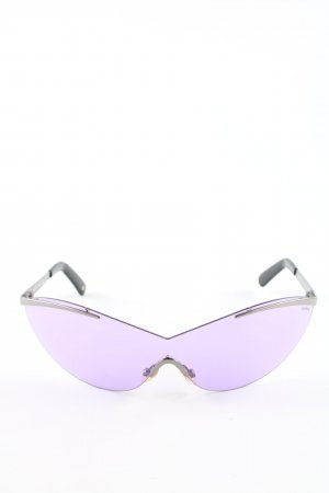 Missoni Lunettes violet-argenté style d'affaires