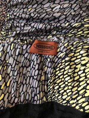 Missoni Vestido ceñido de tubo multicolor Licra