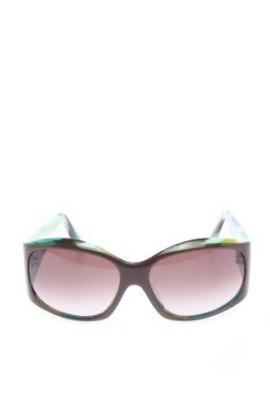 Missoni Occhiale da sole spigoloso multicolore stile casual