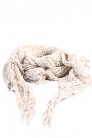 Missoni Fringed Scarf nude-natural white flecked casual look