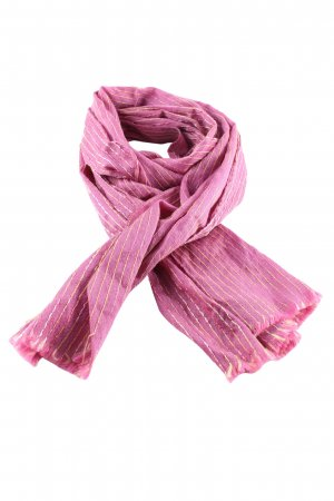 Missoni Fringed Scarf pink-primrose allover print casual look