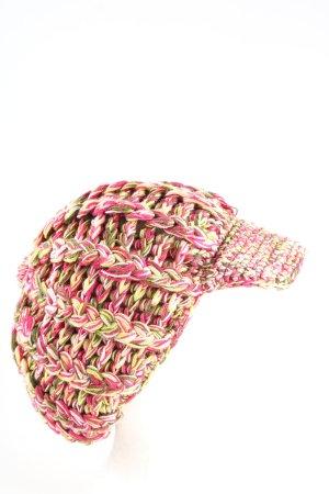 Missoni Szydełkowana czapka różowy Warkoczowy wzór W stylu casual