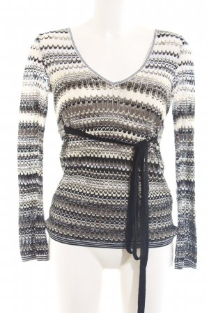 Missoni Häkelpullover Allover-Druck Casual-Look