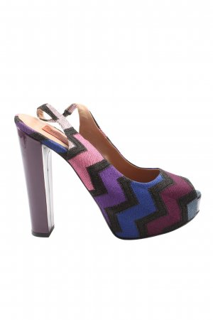 Missoni High Heels multicolored party style