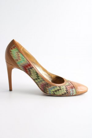 Missoni High Heels mehrfarbig Business-Look