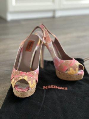 Missoni High Heels Sandaletten Gr. 38, ungetragen!