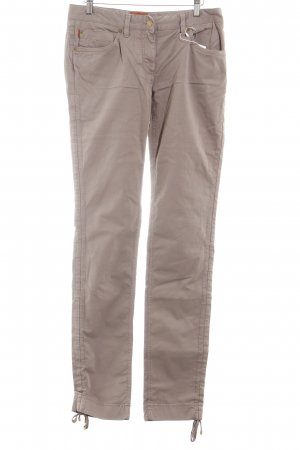 Missoni Pantalón de pinza alto marrón grisáceo look casual