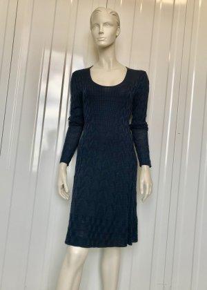 MISSONI KLEID - BLAU - IT 44 - 56% Virgin wool / 46 Viskose / hervorragend - Unterkleid  100% Polyester