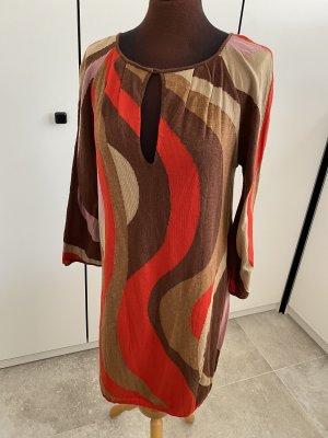 Missoni Robe à manches longues multicolore