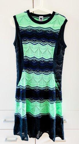 Missoni - Kleid - grün, blau, schwarz - Größe M
