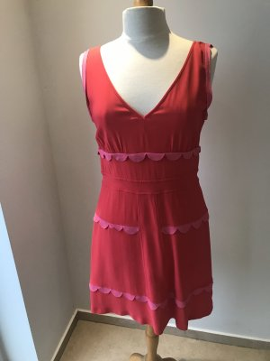 Missoni Kleid Luxus Gr 40 Designer Kleid Pink Orange