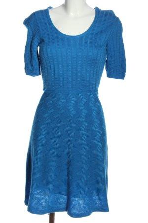 Missoni Robe à manches courtes bleu style décontracté