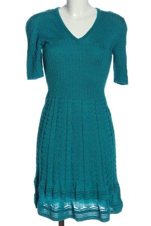 Missoni Robe à manches courtes turquoise style décontracté