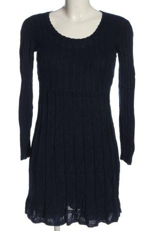 Missoni Robe à manches longues bleu motif rayé style décontracté