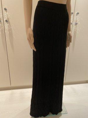 Missoni Maxi Skirt black mixture fibre