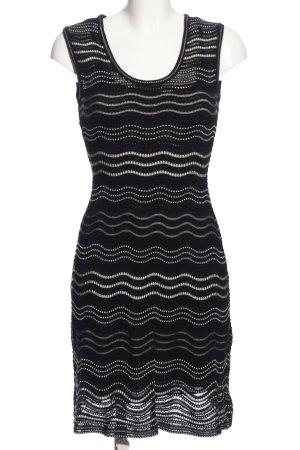 Missoni Minikleid schwarz Streifenmuster Casual-Look