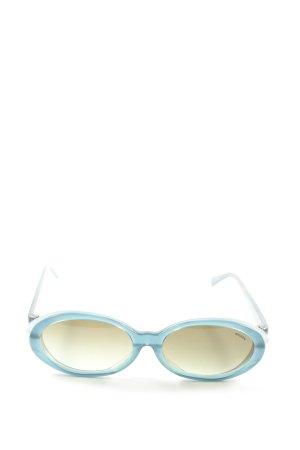 Missoni ovale Sonnenbrille blau Casual-Look