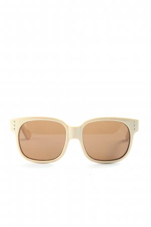 Missoni Oval Sunglasses natural white casual look