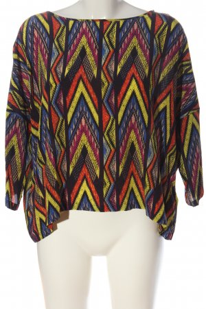 Missoni Oversized Bluse grafisches Muster Casual-Look